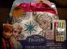DISNEY FROZEN COLOR N' STYLE FASHION PURSE ACTIVITY Girls, Tara 3 yrs + NEW 2015