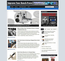 IMPROVE YOUR BENCH PRESS WEBSITE WITH UK AFFILIATE STORE + BANNERS & NEW DOMAIN