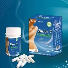 Burn 7 Diet Pills Appetite Suppressant Weight Loss Fat Burner