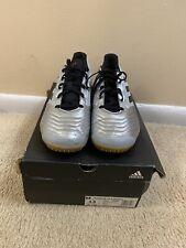 Adidas Silver Mens Sala Predator 19.4 Indoor Soccer Shoes Size 13 Guc