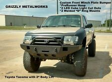 """WINCH BUMPER FOR 95-04 TOYOTA TACOMA w/3"""" Body Lift Grizzly Metalworks Premium"""