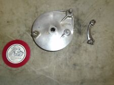 1978 KAWASAKI KE175 REAR BRAKE PLATE