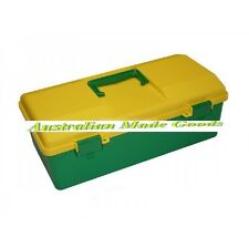 Utility Box Medium Fischer IH-037 Green and Gold