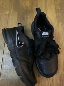 Nike T-Lite XI Trainers In Black - Size 6.5 - In Immaculate Condition