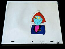 Beetlejuice 1989 TV Series Animation Production Hand Painted Cel & Pencil