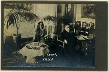 2 Photos Couple Nichol Lilliputien Nain Midget Chicago Vers 1930