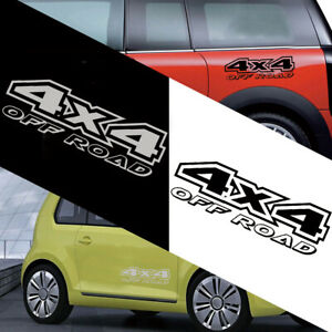 Auto Windows Door Sticker Off-road Car Styling 4X4 Graphics Decals Decoration ×1