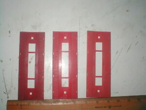 HO Scale TYCO bridge decking 3 pcs