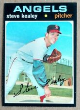 1971 Topps Set STEVE KEALEY #43 CALIFORNIA ANGELS