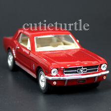 Kinsmart 1964 1/2 Ford Mustang 1:36 Diecast Toy Car Red