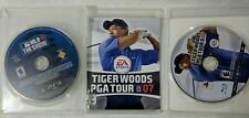 Tiger Woods Pga Tour 07 PS3 Playstation 3 + MLB 10 The Show Video Games