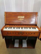More details for bilhorn bros made pump organ universal folding organ working