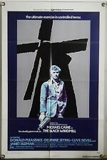 THE BLACK WINDMILL FF ORIG 1SH MOVIE POSTER MICHAEL CAINE DELPHINE SEYRIG (1974)