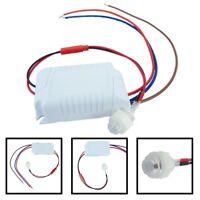 1X Mini Bewegungsmelder zum Sensor 90-250VAC Unterputz für LED bis 800W PIR Mode