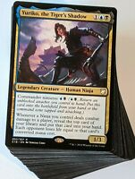 ***Custom Commander Deck*** Ninjas - Yuriko the Tiger's Shadow - EDH Magic Cards