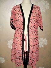 kimono wrap -jacket -cover up - George - pink/black size Medium - new