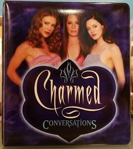 Inkworks Charmed Conversations Trading Card Binder Collectors 3 Ring Album