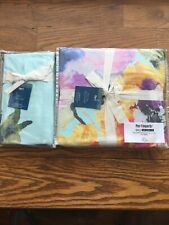 Pier 1 Imports Duvet Cover Full/Queen + 2 Standard Shams - Bold Blooms - 90x94