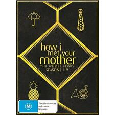 HOW I MET YOUR MOTHER COMPLETE SEASON 1, 2, 3, 4, 5, 6, 7, 8, 9 DVD BOX SET R4