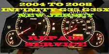 INFINITi G35 G35X 2004 05 06 07 08 SOFTWARE AND ODOMETER CALIBRATION SERVICE