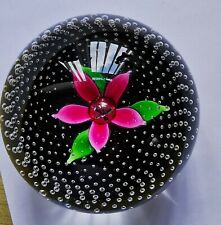 Caithness Flower in the Rain Paperweight