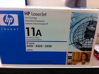 original HP TONER Q6511A 11A TONER LASERJET LJ 2410 2420 2430 A-Ware