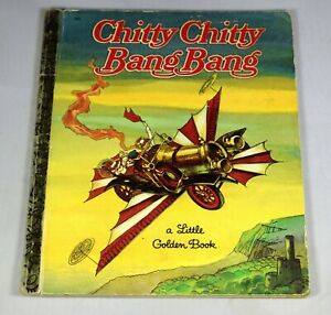 Chitty Chitty Bang Bang Little Golden Book