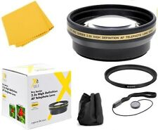 Accessory Kit (Telephoto Lens, Fiber cloth & more) for Fujifilm S700 S5700 S5800