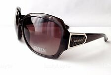 NWT GUESS GUF 217 Authentic Brown Gold Sunglasses Women Gift Idea /355/ New