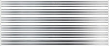 1/16 INCH (.125) VINYL PEEL STICK HO SCALE STRIPES STRIPE CHROME DECALS