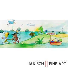 """JANOSCH - """"EIn Vogel fliegt zurück nach Uskow"""", handsigniert, Auflage 99, 2013 !"""