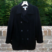 Women's - Old Navy Double Breasted Maternity Lined Wool Coat - Size Large