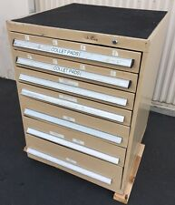 "7 DRAWER CABINET INDUSTRIAL TOOL BOX STORAGE LISTA/Stanley Type 29""x 29"" X 39""t"