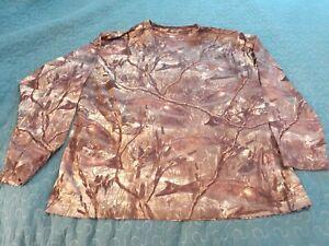Fishouflage Men's Camouflage Print Long Sleeve Fishing Shirt XL