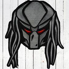 Predator Helmet Embroidered Patch Big for Back Head No Face AVP Dutch Aliens