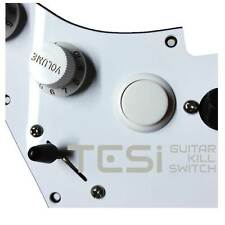 Tesi DITO Snap-in 24MM Guitar Arcade Button Kill Switch Solid White