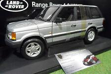 LAND ROVER RANGE 4.6 HSE 4x4 gris silver 1/18 AUTOart 70014 voiture miniature