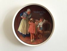 """""""Grandma's Surprise"""" Knowles Twelfth 12th Collector Plate 1987 Norman Rockwell"""