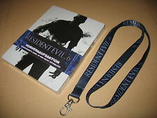 """Resident evil 6 new & sealed Steelbook PS3 G2 Only """"NO GAME"""" + Promo Lanyard"""