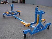 4000LB Capacity Auto Car Body Rotisserie Twirler Hoist W/Twin 8 Ton Rams