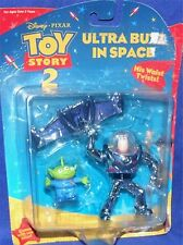Disney Toy Story 2 Ultra Buzz in SPACE with green alien New Factory Sealed 2000