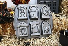 WILLIAMS-SONOMA TOMBSTONE CAKELETS PAN -NWT- LET BORING HALLOWEENS REST IN PEACE