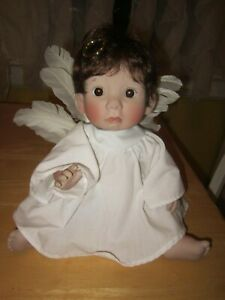 """1979 LLoyd and Lee Middleton Signed """"Angel Baby"""" Doll Limited Edition 14"""""""