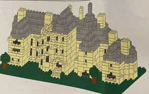 703 Piece Micro Blocks Kit to Build a Palace, Mansion, House, Complete, no box