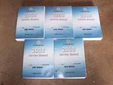 2008 Dodge Charger Shop Service Repair Manual SXT R/T SRT8 2.7L 3.5L 5.7L & 6.1L