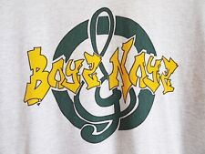 Vtg 90s BOYZ & NOYZ Graffiti Hip Hop Retro Streetwear Surf Skate Gray T Shirt L