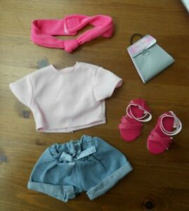 DESIGN A FRIEND OUTFIT - SHORTS, T SHIRT, SHOES AND HEAD BAND ALL NEW