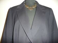 "TM LEWIN WOMAN  Black smart jacket in Size 16  chest 40"" Perfect condition."