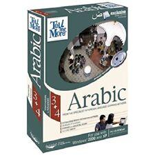 AURALOG TeLL Me More Arabic Intermediate & Advanced ( Windows ) - SEALED BOX