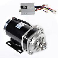 1000 Watt 48 Volt GEARED 6:1 electric motor+Controller f Quad Trike Go-Kart DIY